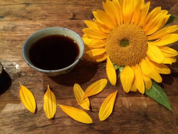 tea sunflower
